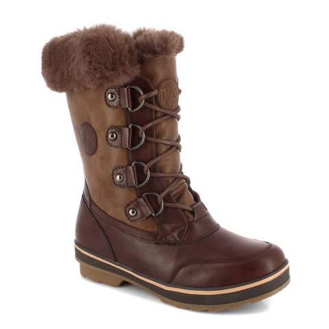Kimberfeel Dark Brown Leana Snow Boots