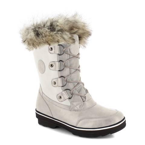 Kimberfeel Cream Leana Snow Boots