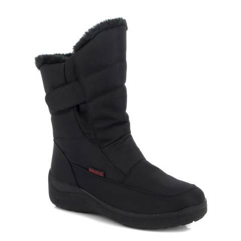 Kimberfeel Black Leaya Waterproof Boots