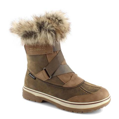 Kimberfeel Beige April Snow Boots
