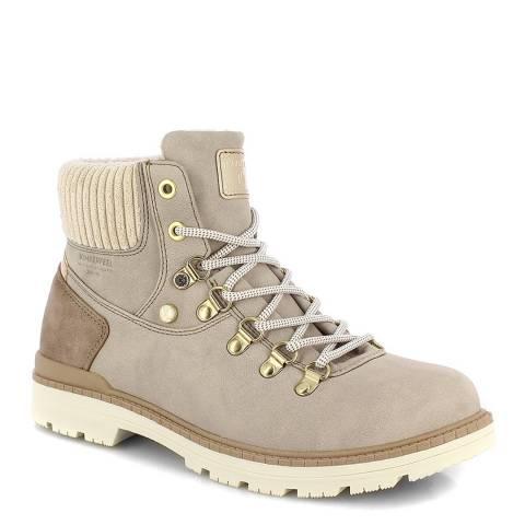 Kimberfeel Cream Lindsay Ankle Boots