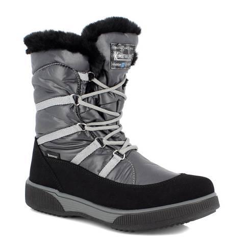 Kimberfeel Black Maska Snow Boots