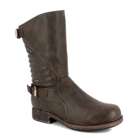 Kimberfeel Brown Maude Knee High Boots