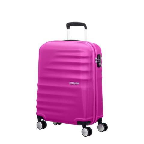 American Tourister Pink Wavebreaker Spinner 55cm
