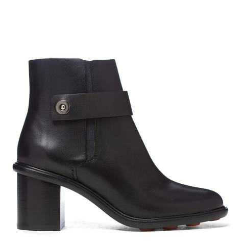 PAUL SMITH Black Leather Duke Ankle Boot