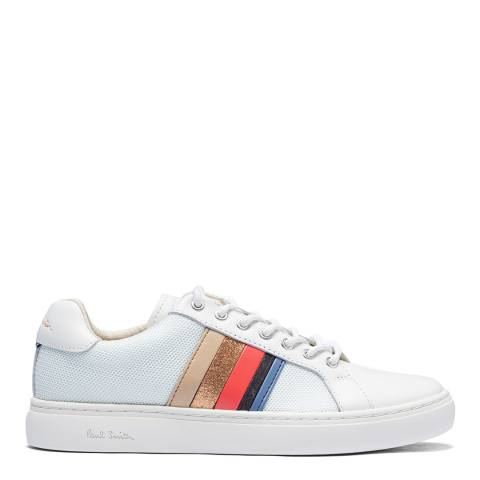 PAUL SMITH White Lapin Rainbow Sneaker