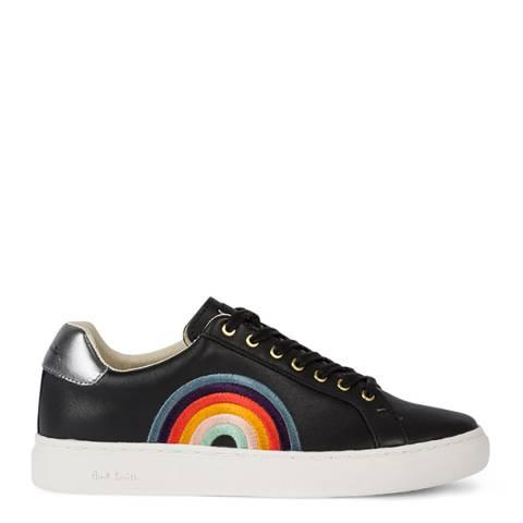 PAUL SMITH Black Lapin Rainbow Sneaker