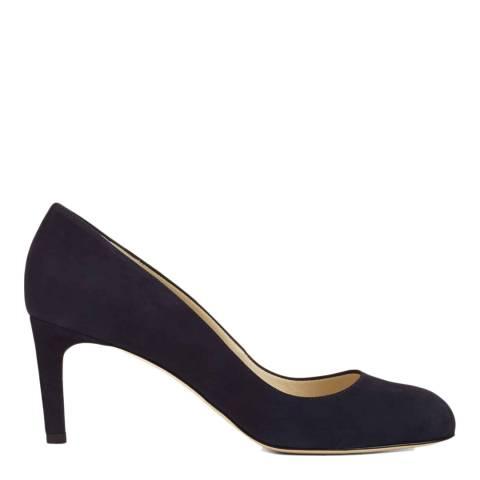 Hobbs London Black Leather Sophia Court Heels