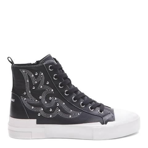 ASH Black Gaudi Hightop Sneaker