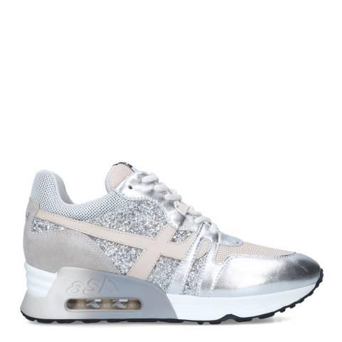 ASH Silver Metallic Lux Sneaker