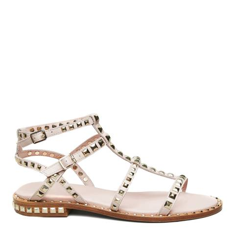 ASH Pink Salt Leather Precious Sandals