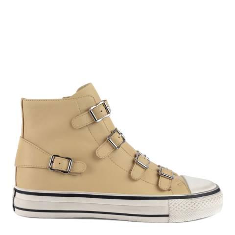 ASH Vanilla Cream Virgin Hi Top Sneaker