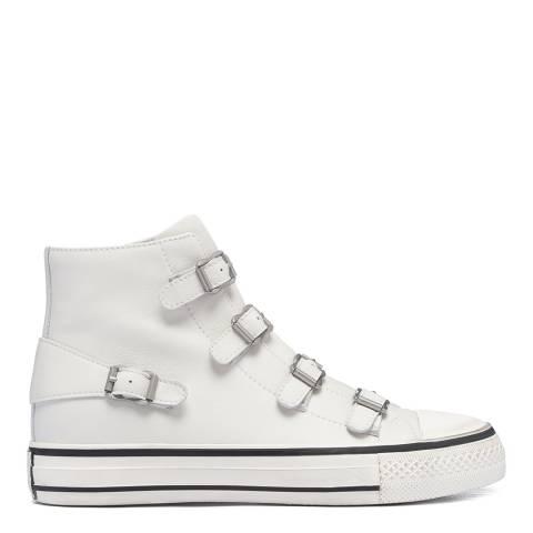 ASH All White Virgin Hi Top Sneaker