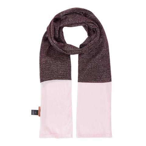 Missoni Pink Colourblock Scarf