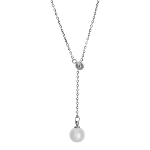 Amelia Parker Silver Pearl Collection Necklace