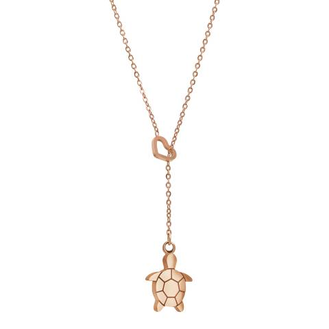 Amelia Parker Rose Gold Turtle Collection Necklace
