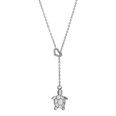 Amelia Parker Silver Turtle Collection Necklace