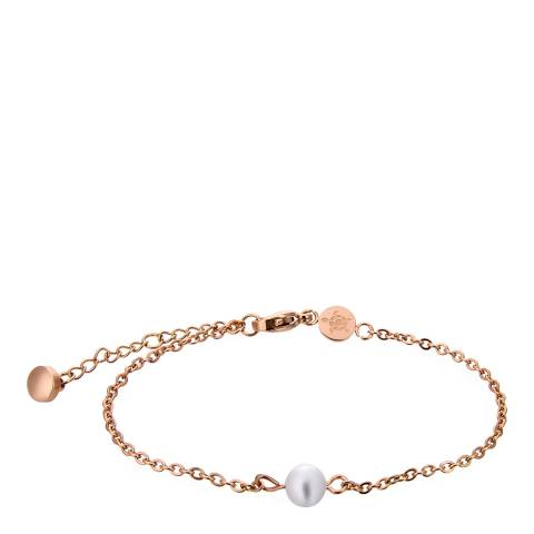 Amelia Parker Rose Gold Pearl Collection Bracelet