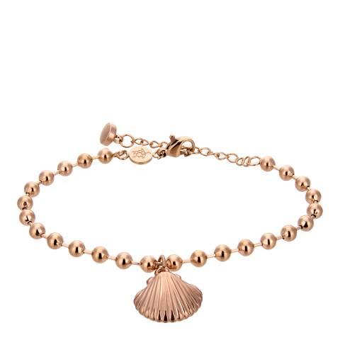 Amelia Parker Rose Gold Shell Collection Bracelet