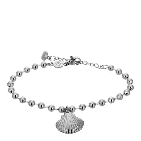 Amelia Parker Silver Shell Collection Bracelet
