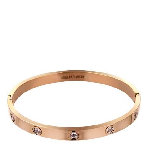Amelia Parker Rose Gold Crystal Collection Bracelet