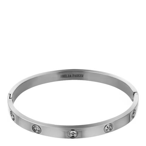 Amelia Parker Silver Crystal Collection Bracelet