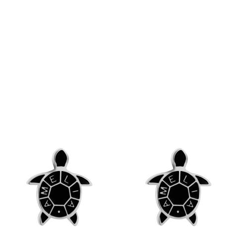 Amelia Parker Silver Turtle Collection Earrings