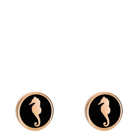 Amelia Parker Rose Gold Seahorse Collection Earrings