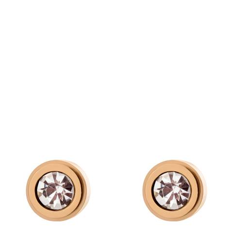 Amelia Parker Rose Gold Crystal Collection Earrings