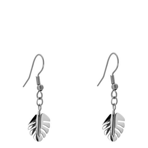 Amelia Parker Silver Palm Leaves Collection Earrings