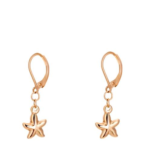 Amelia Parker Rose Gold Starfish Collection Earrings