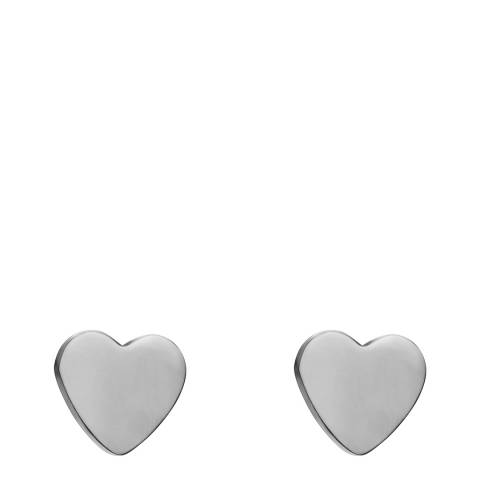Amelia Parker Silver Heart Collection Earrings