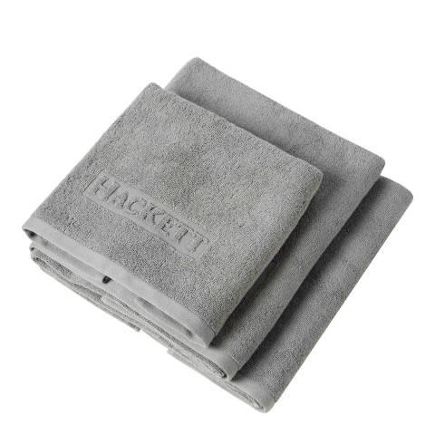 Hackett London Hotel Hand Towel, Grey