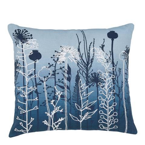 Clarissa Hulse Prarie 45x45cm Cushion, Navy