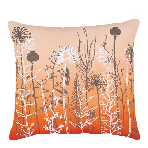 Clarissa Hulse Prarie 45x45cm Cushion, Orange