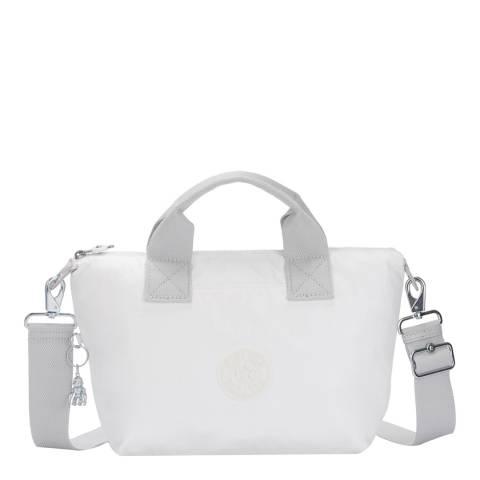 Kipling White Metal Origin Kala Mini Shoulder Bag