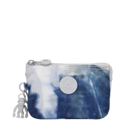 Kipling Tie Dye Blue Creativity S Pouch