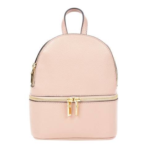 SCUI Studios Blush Leather Backpack