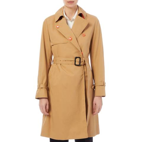 PAUL SMITH Beige Cotton Trench Coat