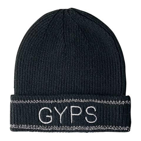 MAJE Black Gyps Wool Blend Beanie Hat