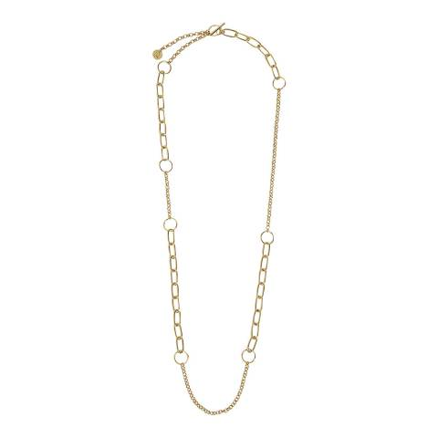 MAJE Gold Chain Necklace