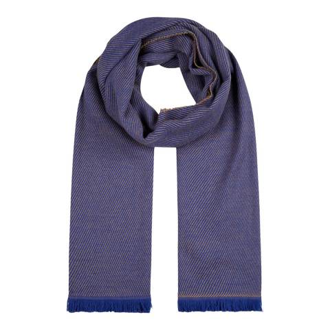 Hobbs London Blue Willow Scarf