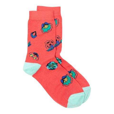 PAUL SMITH Pink Multi Eloise Socks