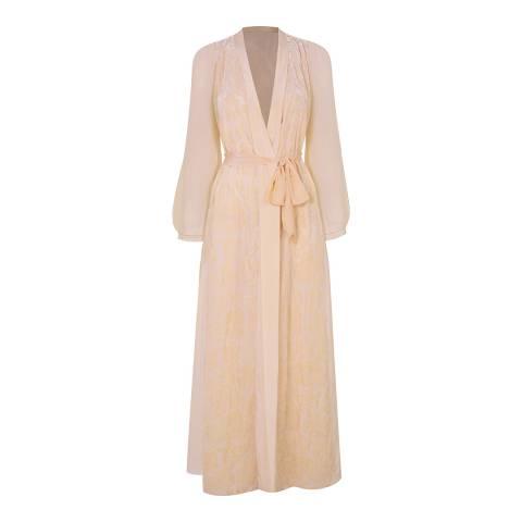 Myla Subtle Gold De Beauvoir Square Long Gown