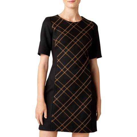 Hobbs London Black Mari Dress