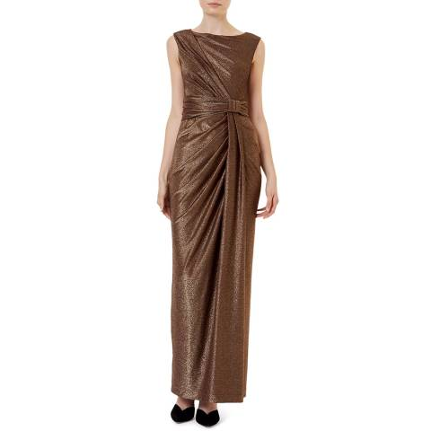 Hobbs London Copper Mia Maxi Dress