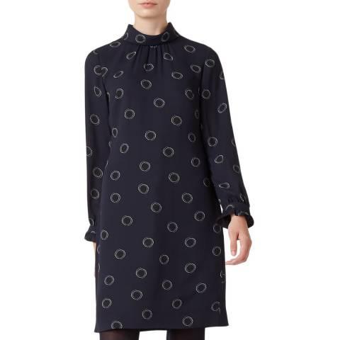 Hobbs London Black Clarice Dress