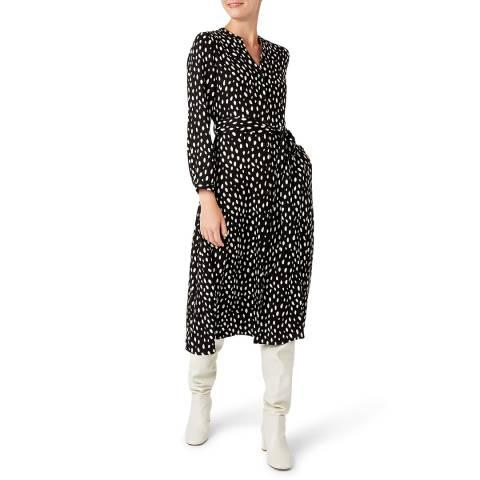 Hobbs London Black Ginnie Dress