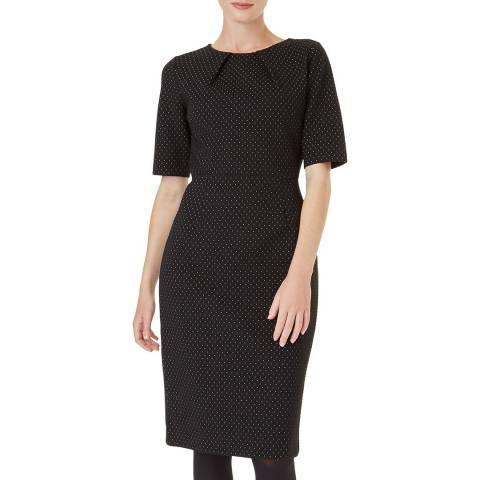 Hobbs London Black Silvia Dress
