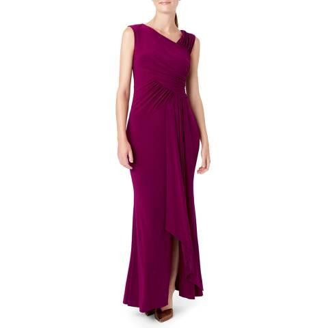 Hobbs London Purple Niamh Maxi Dress